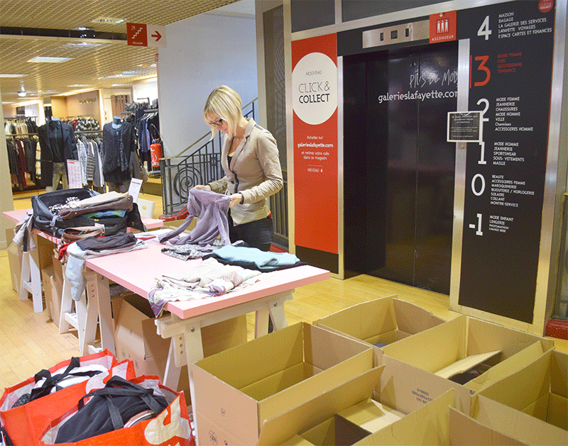 vide dressing aux galeries lafayette dijon. Black Bedroom Furniture Sets. Home Design Ideas
